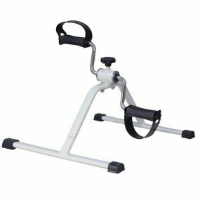 Economy White Pedal Exerciser
