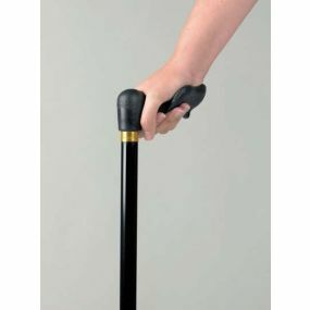 Black Ergonomic Grip Sticks Comfy Grip - Right Handed