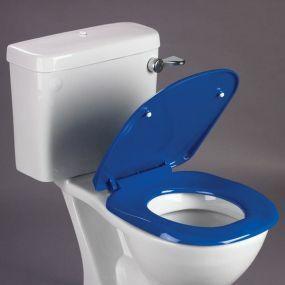 Ergonomic Toilet Seat - Blue