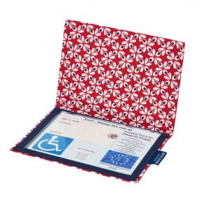 Cloth Blue Badge Wallet - Ring O Roses (European Permit)