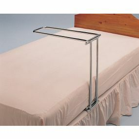 Folding Chrome Bed Cradle