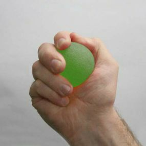 Gel Ball Hand Exerciser - Green (Medium)