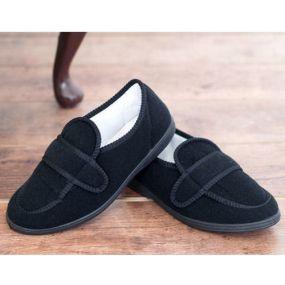 George Comfort Shoe For Men Size 7 (Black)