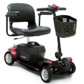 Pride GoGo Elite Traveller 4 Mobility Scooter - 17Ah