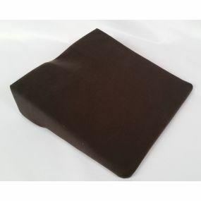 Harley 11° Coccyx cut-out Wedge Cushion - Black (14x14x4