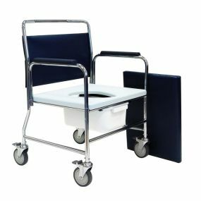 Heavy Duty Mobile Commode Chair 24