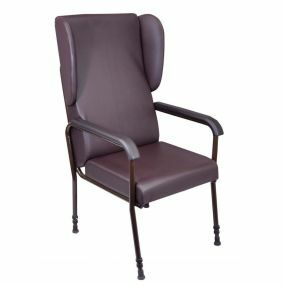 High Back Chair - Brown