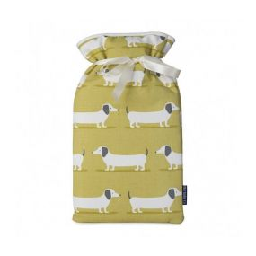 Hot Water Bottle Sausage Dog Cover (2 Litre)