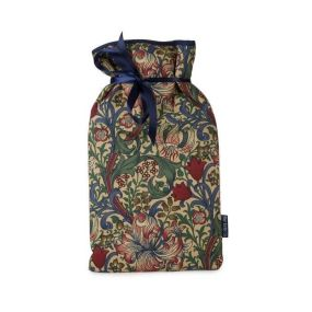 Hot Water Bottle William Morris Golden Lily Cover (2 Litre)