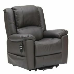 Dual Motor Leather Riser Recliner