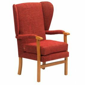 Jubilee High Seat Chair - Crimson