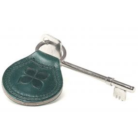 Leather Key Fob & Radar Key - Vim Green