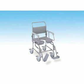 TransAqua Shower/Commode Chair - Attendent propelled- Medium