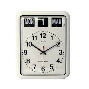 Large Calendar Wall Clock