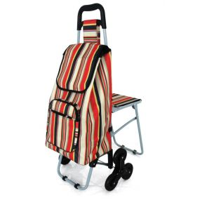 Leisure Trolley with Seat (Tripple Wheel Stair Climber)