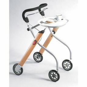 Let's Go Indoor Rollator - Silver & Beech