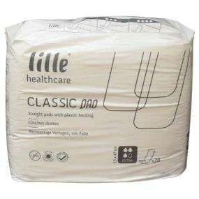 Lille - Classic Rectangular PE Backed Pads - Extra (PK28)
