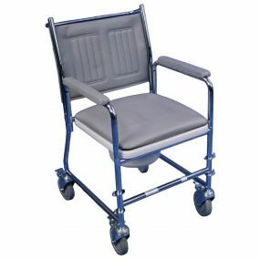 Linton Mobile Commode (Without Footrests)
