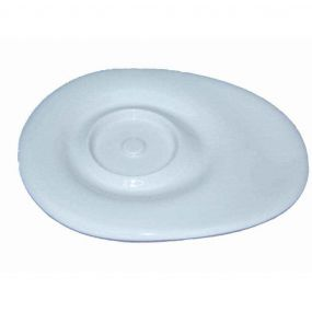 Wade Dignity Large Saucer - White