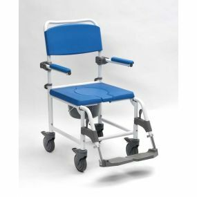 Adaptable Shower Commode Chair - Attendant Controlled
