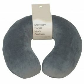 Memory Foam Neck Cushion - Grey