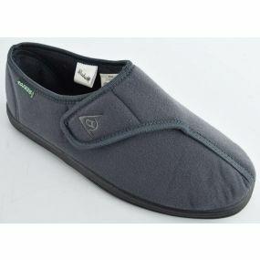 Mens Arthur Slippers - Size 12 (Grey)