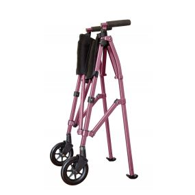 EZ Fold N Go Walker - Regal Rose