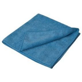 Blue Microfibre Cloths (10PK)