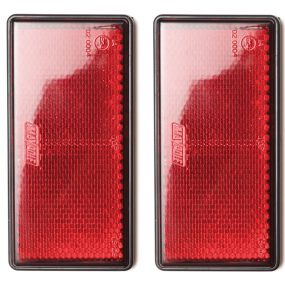 Mobility Scooter / Wheelchair Reflectors (PK2) - Red