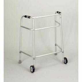 Mobility Smart Bariatric Aluminium Zimmer Frame - With Wheels (Large)