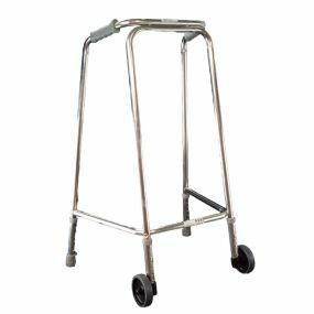 Mobility Smart Ultra Narrow Zimmer Frame - Medium (With Wheels)