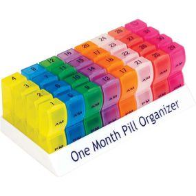 Monthly Pill Organiser