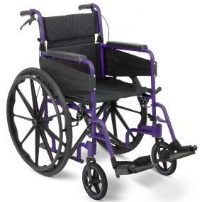 Escape Lite Self Propelled Wheelchair - Purple