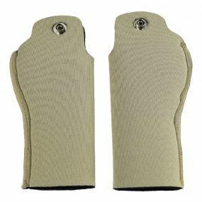 Deluxe Crutch Handle Sleeves For Ergonomic Handles - Beige