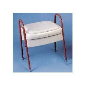 Ashby Commode Stool - Pink