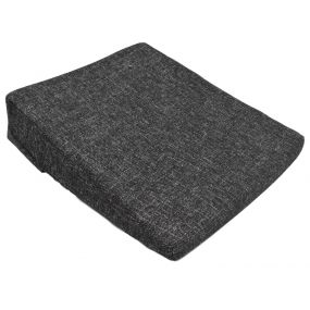 Kozee Komforts 11 Degrees Coccyx Cut-Out Wedge Cushion - Black (36x36x3.5