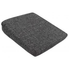 Kozee Komforts 11° Tweed Wedge Cushion - Charcoal (14x14x3.5