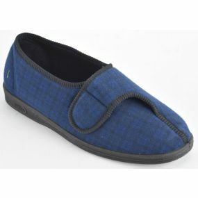 Gents Paul Slippers - Size 8 (Royal Blue)