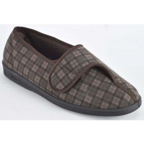 Gents Paul Slippers - Size 10 (Brown)