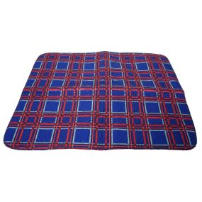 Senset Washable Seat Pads - 49 x 60cm - Tartan