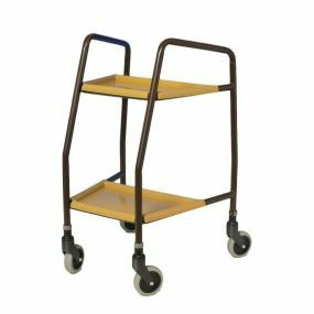 Tapered Walking Trolley - Plastic Shelves