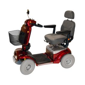 Shoprider Cadiz Mobility Scooter - Red