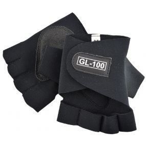 Globaleather Easy Fit Neoprene Wheelchair Gloves - Large