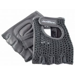 Padded Mesh Wheelchair Gloves - Large