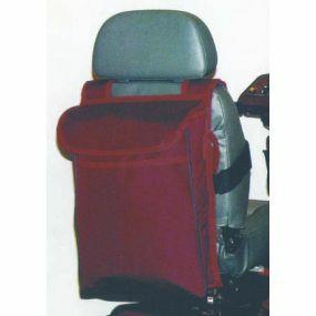 Extra Long Scooter Saddle Bag - Burgundy