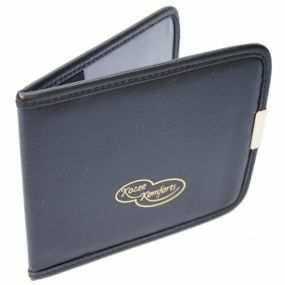 Faux Leather Blue Badge & Timer Wallet - Black