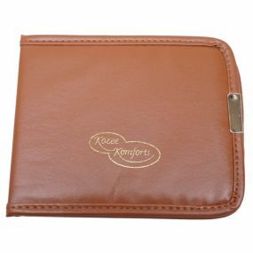 Faux Leather Blue Badge & Timer Wallet - Brown