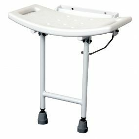 Lift up Moulded Shower Seat (With legs)