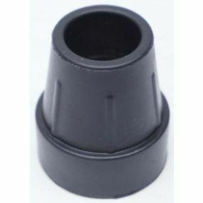 Standard Round Ferrule (Z Type) - Black, Size: 25mm (1 inch)