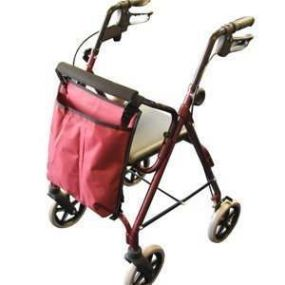 Large Rollator Bag - Maroon